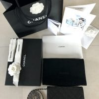 Pochette Wallet on chain Chanel Classic Black Silver